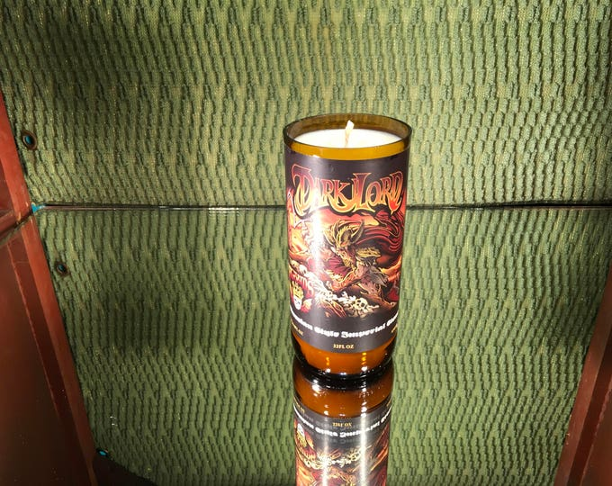 DARK LORD!!!!! Three Floyds Brewery Herbal Citrus Scented Candle