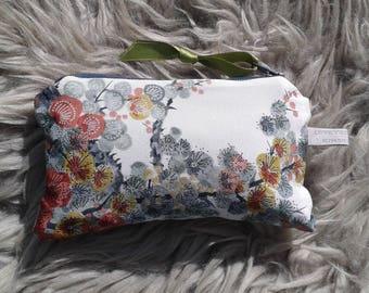 Vintage Kimono velvet lined purse