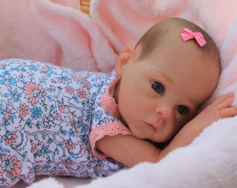 Sale! Beautiful Reborn Baby Girl created from the ultra rare Saoirse sculpt by Bonnie Brown!