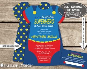 Superman Baby Shower Etsy