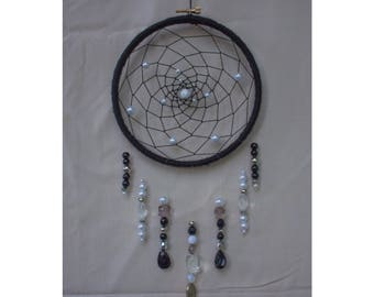 Black Raindrops Dream Catcher, Dream Catcher