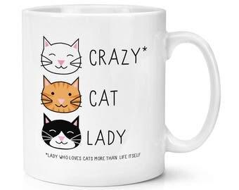 Crazy Cat Lady 10oz Mug Cup
