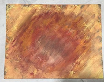 Original Abstract Art Painting 11x14x1.5