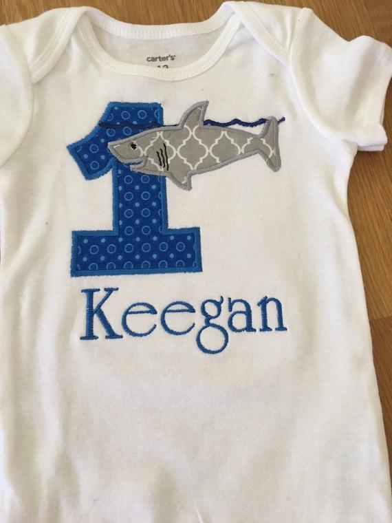 Boys birthday shark shirt, jawsome shark 1st birthday, shark week shirt, shark bite birthday, great white shark, 1 2 3 4 5 any number, monog