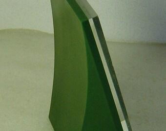 funky vintage 60s/70s Colani Panton Era green Pop Art desk photo frame