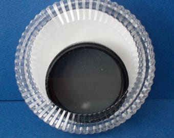 Regent Circular Polarising Lens Filters of various sizes 37, 46, 49 and 72 mm in plastic cases, Made in Japan 1980s