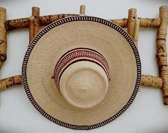 Vintage South American Market Hat
