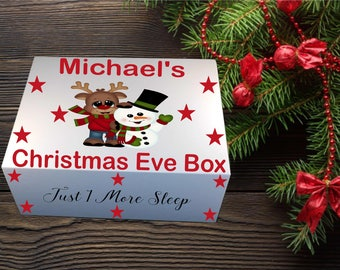 Christmas Eve Box/Personalised Christmas Eve Box/Christmas box/Christmas eve tradition/Christmas Eve Gift/Present Box/