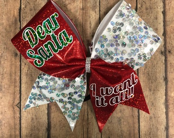Christmas cheer bow -  this item is no longer available for Christmas delivery