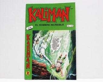 Kaliman El Hombre Increible No 125 El Faraon Sagrado Revista en Español Comic Book in Spanish RARE