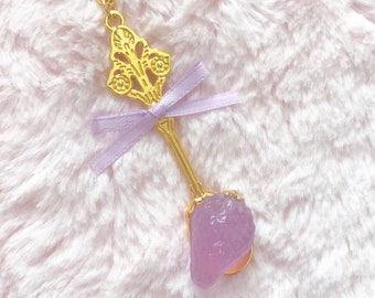 Sweet Strawberry Spoon Necklace