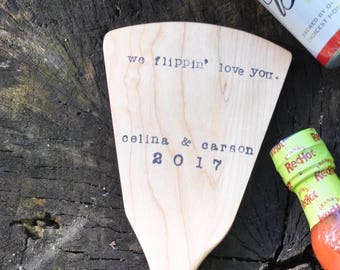 Personalized spatula fathers day spatula fathers day gift for dad bbq spatula grill fathers day gifts for him birthday gift wooden spatula