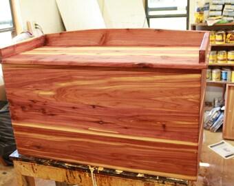 cedar chest, hope chest, blanket chest, blanket box, bench, anniversary gift