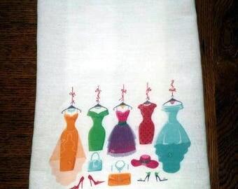 Flour Sack Kitchen Towel Clothing Shopper