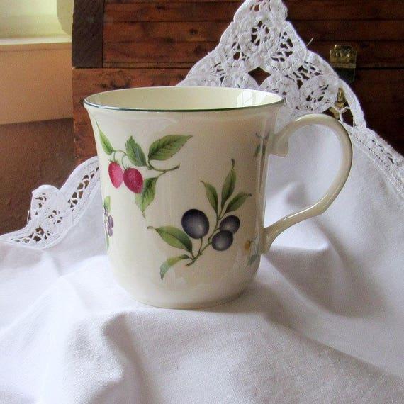 Fruit Parfait Noritake Mugs