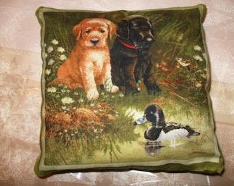 Small pillows dog 13 cm x 13 cm. NO. 4.