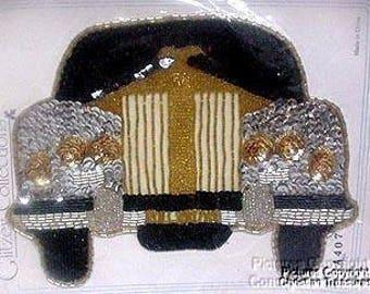 Sequins & Beaded  Rolls Royce (Large) Applique
