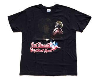 Vintage Rod Stewart Vagabond Heart Tour t shirt 90S ROD STEWART band tee shirt size XL Made In usa unisex music shirt