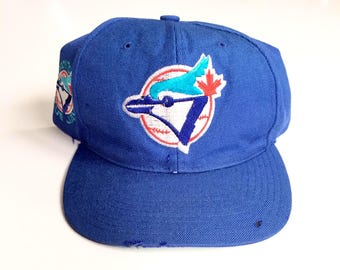 Vintage Toronto Blue Jays american needle ccm blockhead snapback MLB Baseball Snap back hat cap Adjustable wool blend One Size fits all