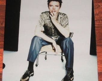 """David Bowie 1.OUTSIDE Original 1995 US Promotional Only Poster 18"""" x 24"""""""