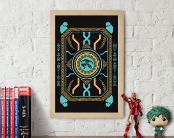 Marvel's Black Panther Art Poster