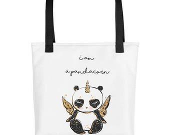 Cute Panda Bag, Panda Tote, Cute Panda Gifts, Cute Panda Purse, Panda Birthday Gift, Panda Gifts for Her, Cute Panda Pattern, Panda Lovers