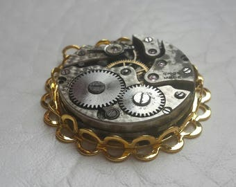 Steampunk Jewelry/ steampunk pendant