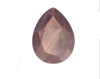 Chocolate Sapphire Loose Gemstone Pear Cut 1A Quality 9x6mm TGW 1.30 cts.