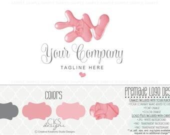 premade nail spa logo nail polish logo nail salon logo nail bar mani pedi logo logo - Nail Salon Logo Design Ideas