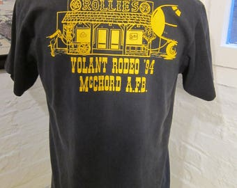 Size L (45) ** 1994 Volant Rodeo / Miller Genuine Draft Shirt (Single Sided)