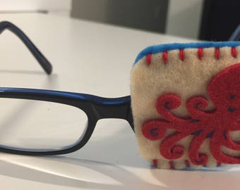 Clearance Octopus Eye Patch For Glasses