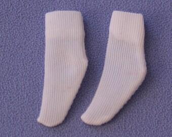 Vintage (Barbie) Skipper Short White Socks, Near Mint