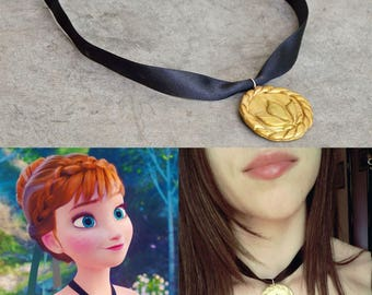 ANNA NECKLACE FROZEN cosplay elsa fan art
