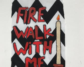 Fire Walk With Me Twin Peaks Patch