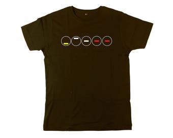 Close Encounters: 5 Tones 5 Circles Mens Fit T-shirt