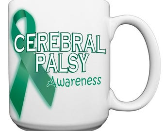 Cerebral Palsy Awareness Large 15 oz. Coffee Mug