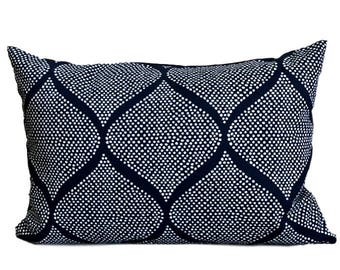 Robert Allen Pillow Cover Madcap Cottage Mocambo Indigo