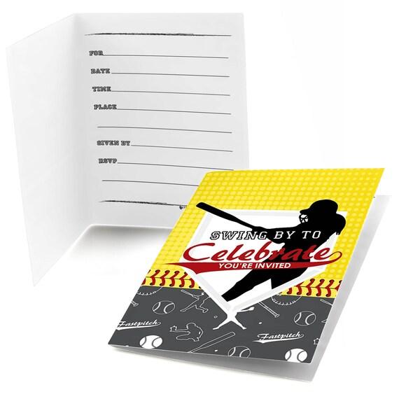 Grand slam fastpitch softball fill in invitations baby shower il570xn filmwisefo