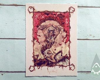Art Print - 'Wurzeln Schlagen'