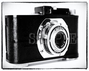Digital Print Vintage Camera Art Instant Download Wall Decor 16x20 Color Print Digital Download