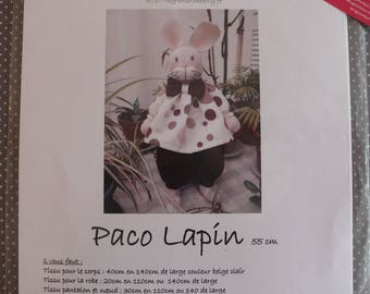 """Pattern to make the rabbit """"Paco"""""""