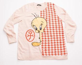 Vintage JC De Castelbajac Looney Tunes Tweety Bird Sweater Jumper