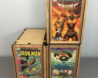 3 Comic Book Storage and Display Boxes with Free Shipping