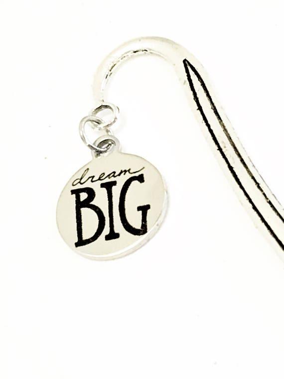 Dream Big Bookmark, Motivational Bookmark, Planner Bookmark, Reader Gift, Direct Sales Team Gift, Graduation Gift, New Job Gift for Daughter
