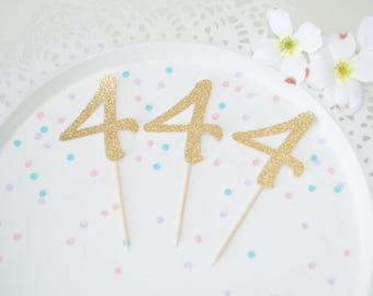 Cupcake Toppers for 4th birthday