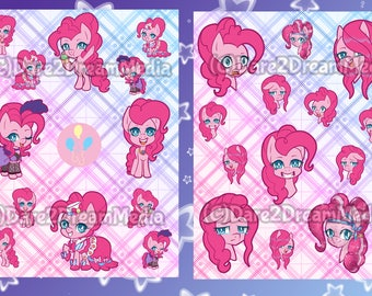 MLP Pinkie Pie Stickers