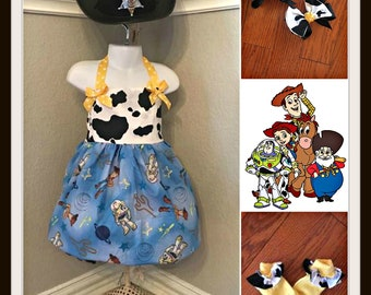 Toy Story dress, Toy Story Birthday, Toy Story outfit
