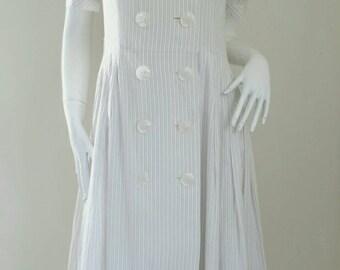 Pierre Cardin Ruffered Dress Size 11