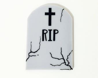 Tombstone Brooch