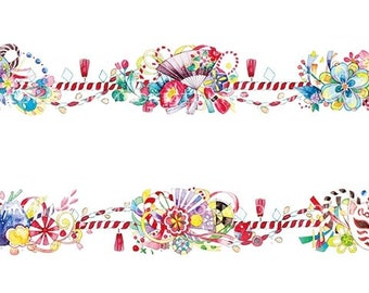 Decorative knot washi tape